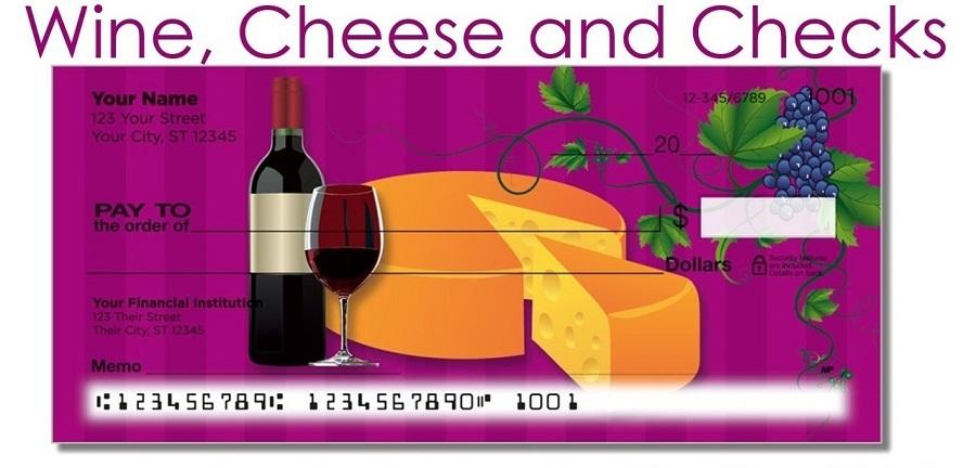 Wine, Cheese, & Checks II
